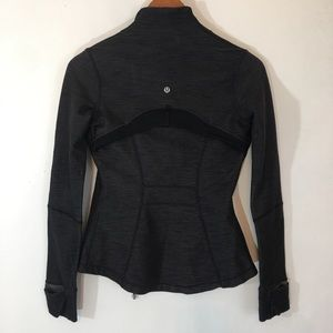 Lululemon Heathered Jacket Full Zip